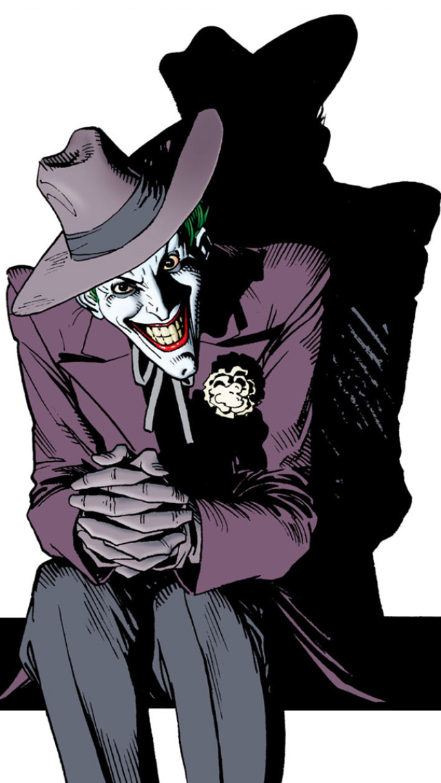 Comics Batman The Killing Joke 640x1136 Mobile Wallpaper