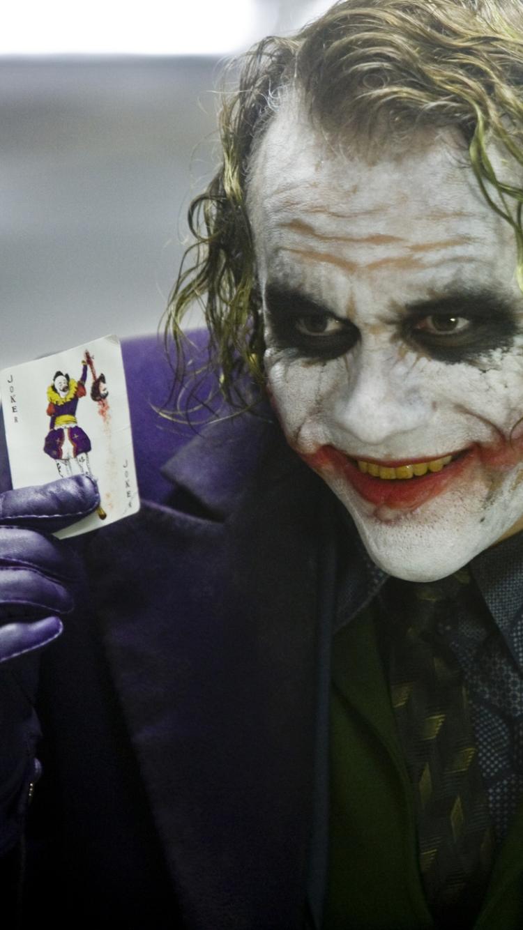 Movie The Dark Knight 750x1334 Mobile Wallpaper