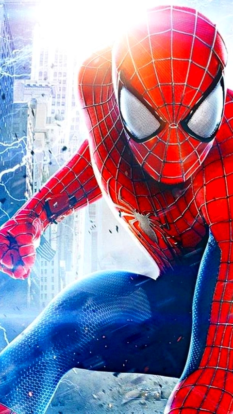 Movie The Amazing Spider Man 2 480x854 Mobile Wallpaper