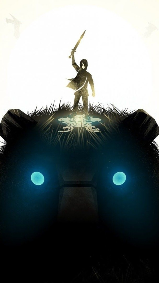 Video Gameshadow Of The Colossus 540x960 Wallpaper Id