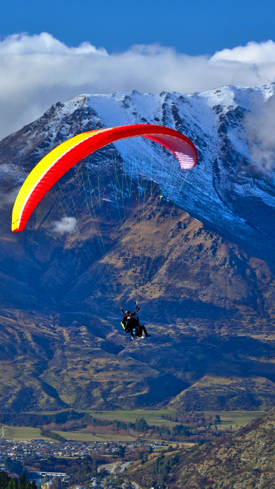 sports/paragliding (1080x1920) wallpaper id: 623094 - mobile abyss