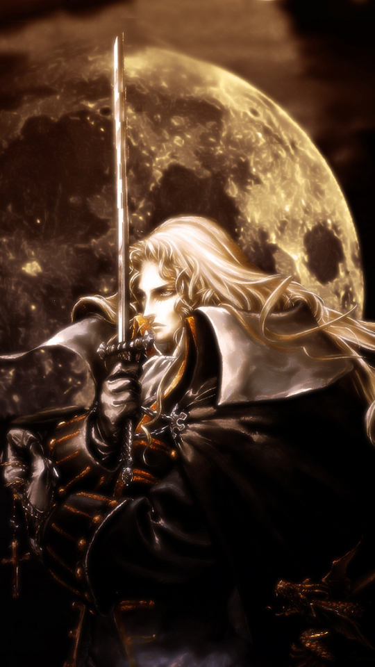 Video Game Castlevania Symphony Of The Night 540x960 Mobile Wallpaper