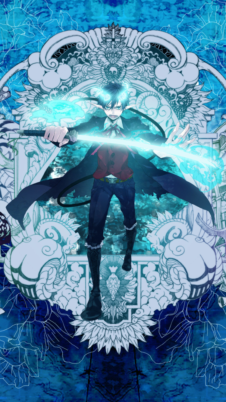 Anime Blue Exorcist 750x1334 Wallpaper ID 623874