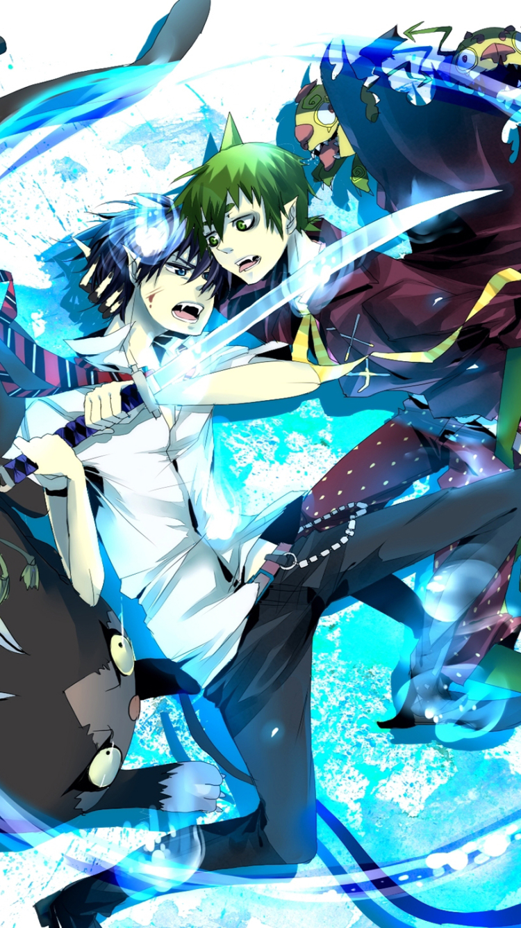 Blue exorcist iphone wallpaper picture why you should - Blue exorcist wallpaper ...