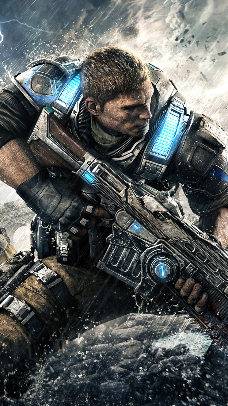 Video Gamegears Of War 4 750x1334 Wallpaper Id 625017 Mobile Abyss