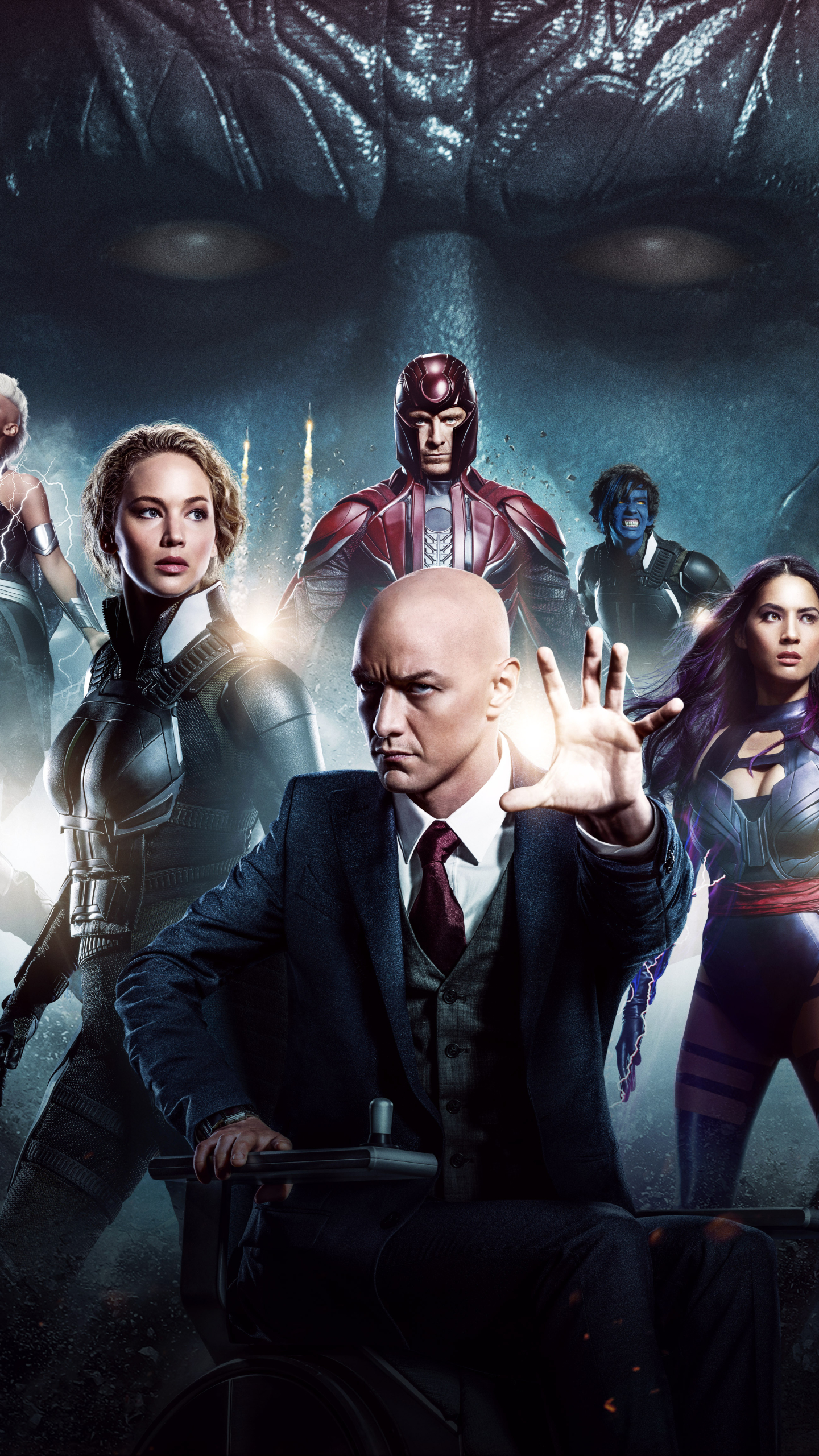 Movie X Men Apocalypse 1440x2560 Mobile Wallpaper