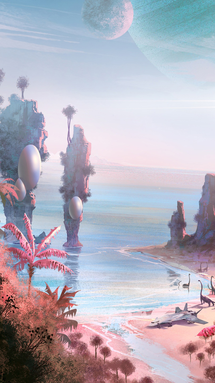 Video Game No Man S Sky 720x1280 Wallpaper Id 626490 Mobile Abyss