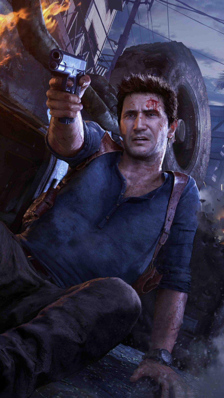 Video Game Uncharted 4 A Thief S End 750x1334 Wallpaper Id 626974 Mobile Abyss