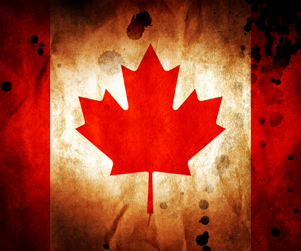 Флаг канады обои на рабочий стол