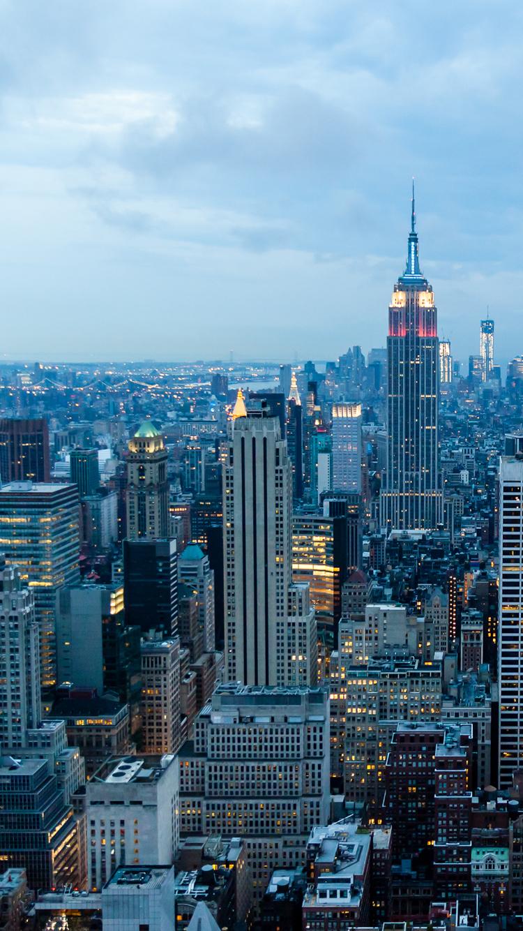 Man Made New York 750x1334 Wallpaper ID 628015