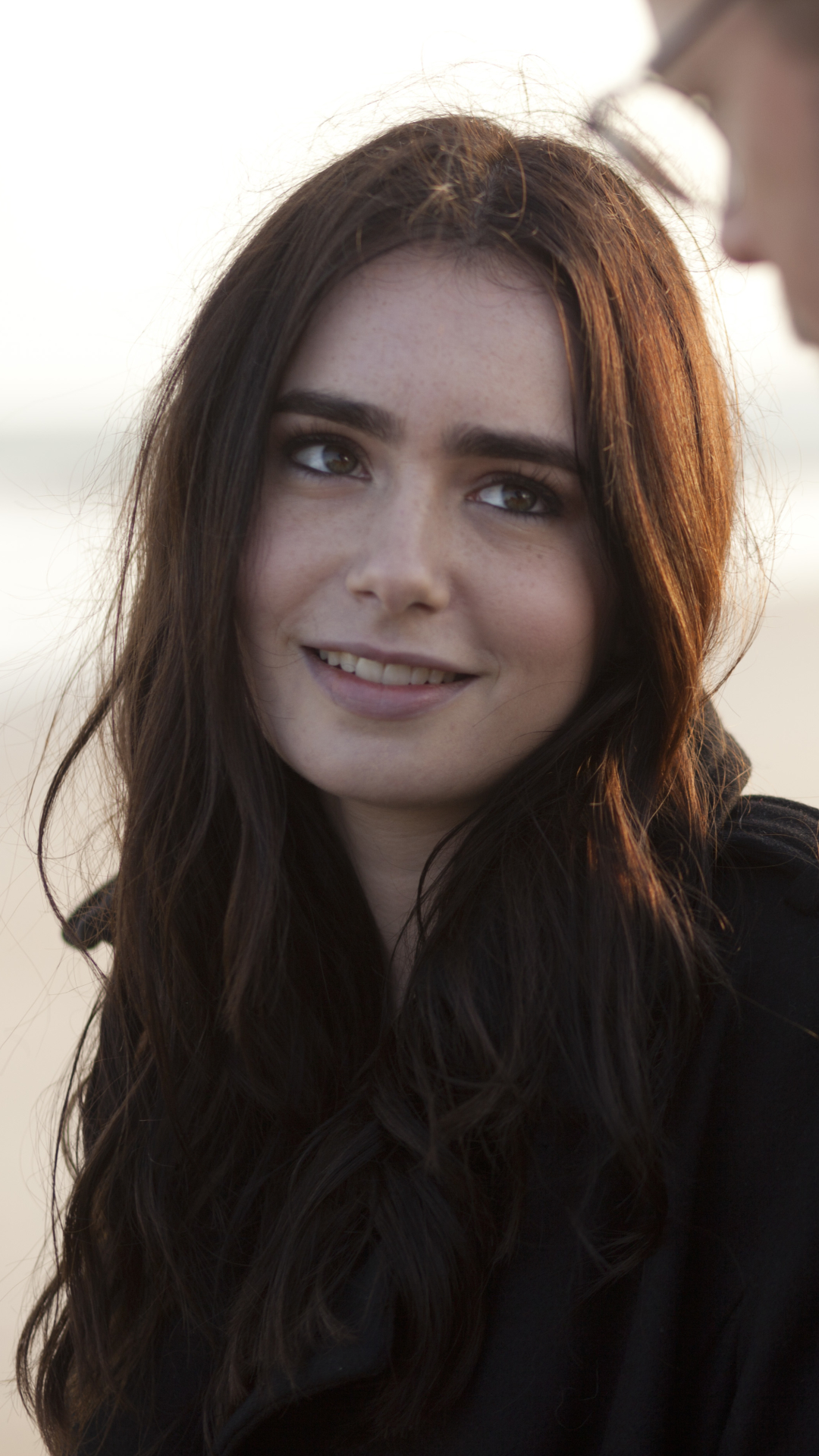 celebrity/lily collins (1080x1920) wallpaper id: 630696 - mobile abyss