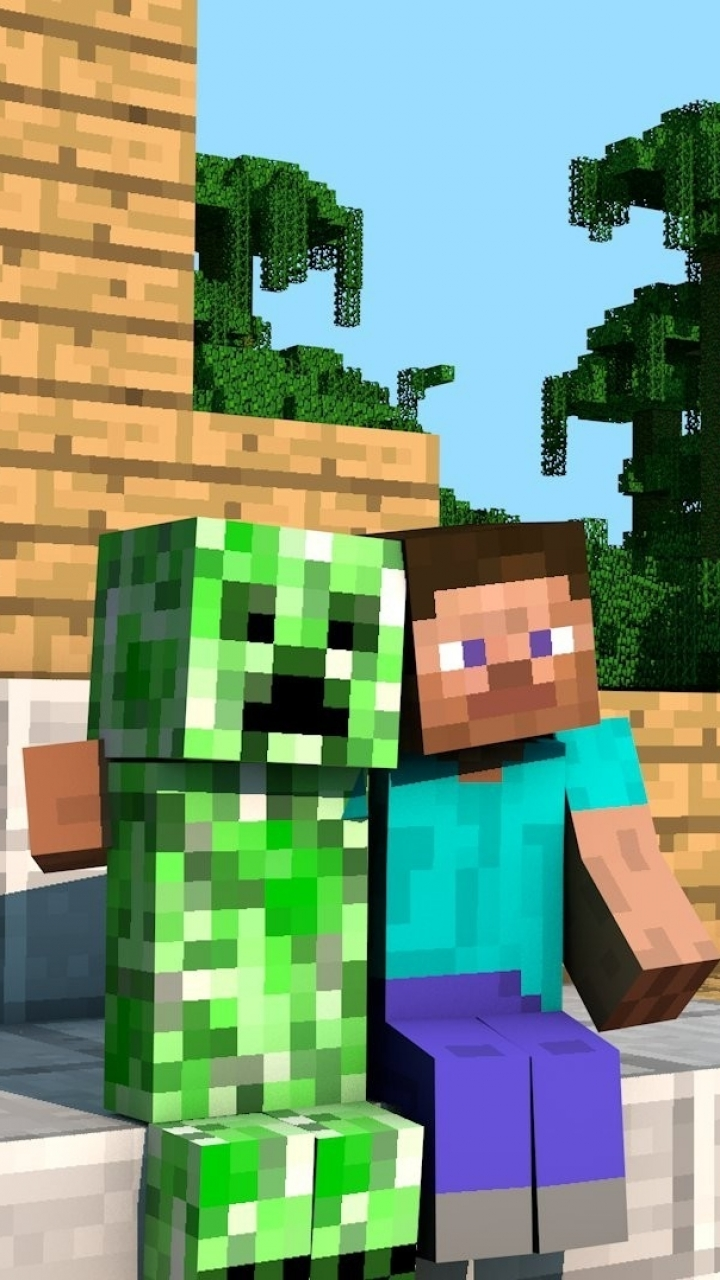 Video Gameminecraft 720x1280 Wallpaper Id 63101 Mobile Abyss