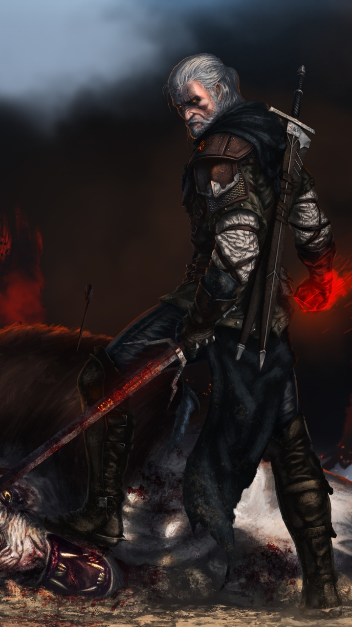 Video Game The Witcher 3 Wild Hunt 720x1280 Wallpaper Id