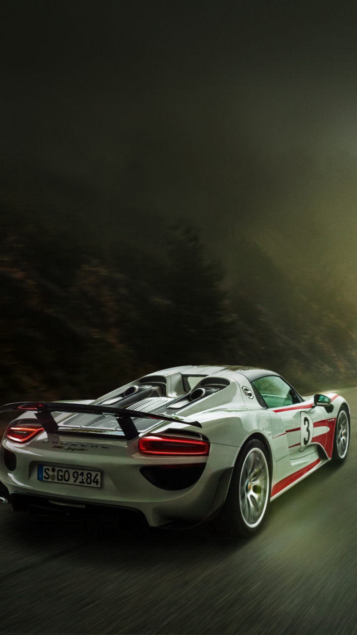 check wallpaper abyss - Porsche 918 Spyder Wallpaper