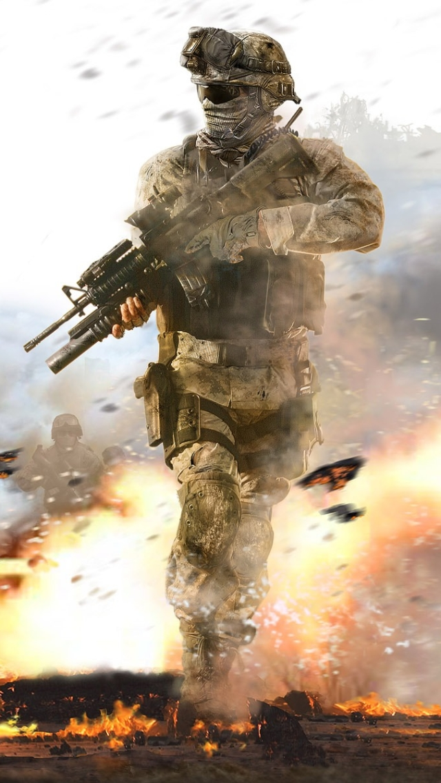 Video Gamecall Of Duty Modern Warfare 2 640x1136