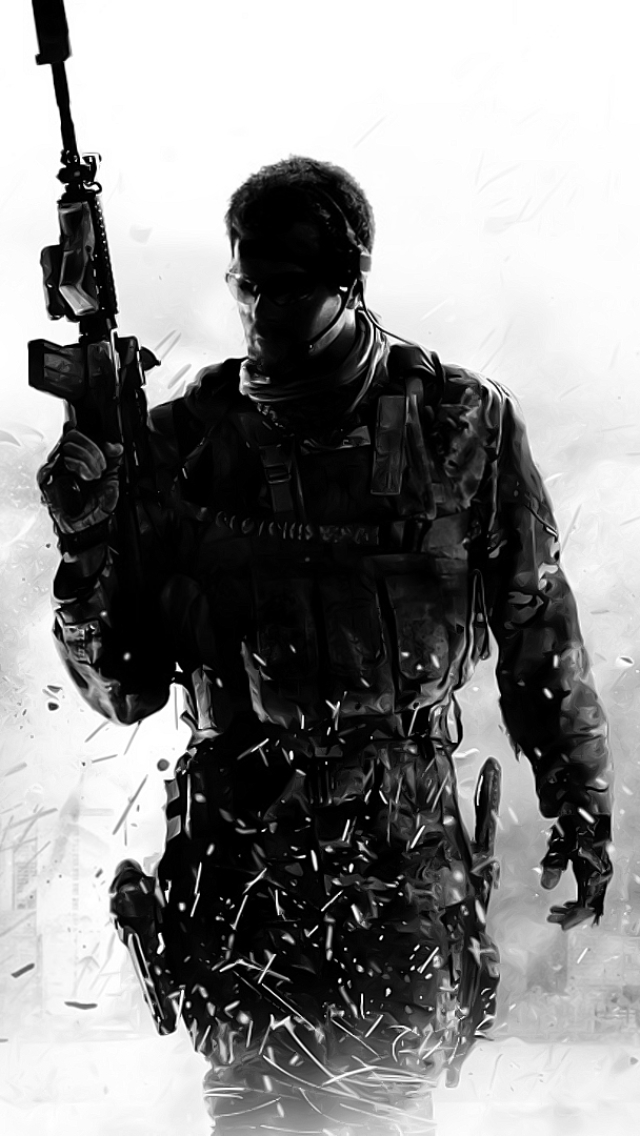 Video Game Call Of Duty Modern Warfare 3 640x1136 Mobile Wallpaper