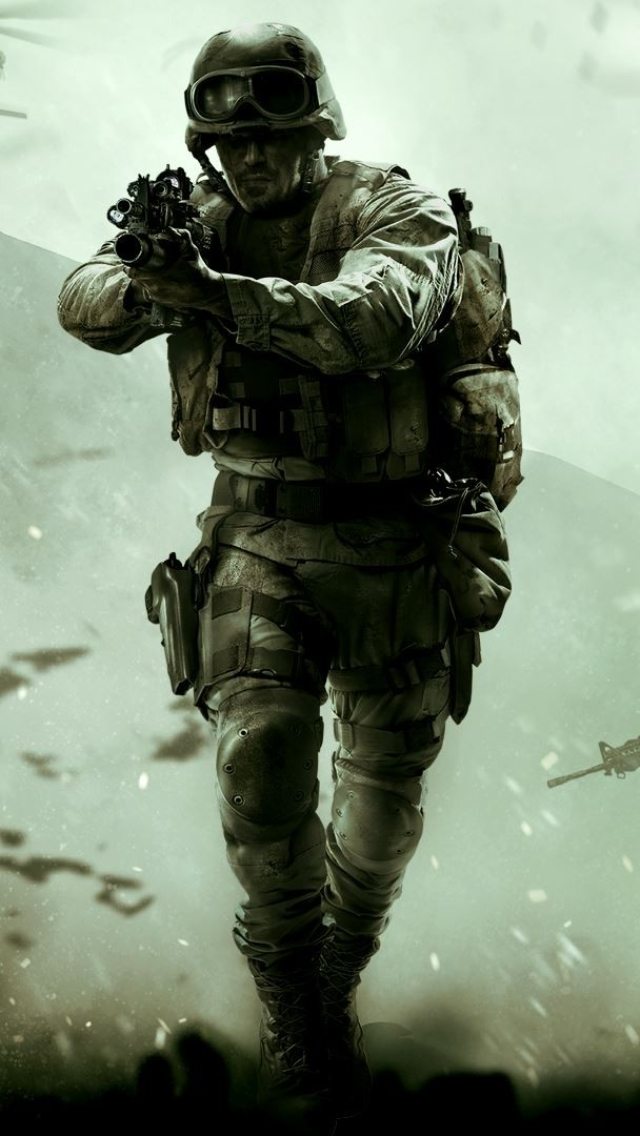 Video Gamecall Of Duty Modern Warfare Remastered 640x1136