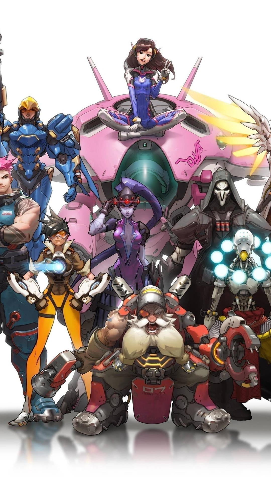 Video Gameoverwatch 1080x1920 Wallpaper Id 633394
