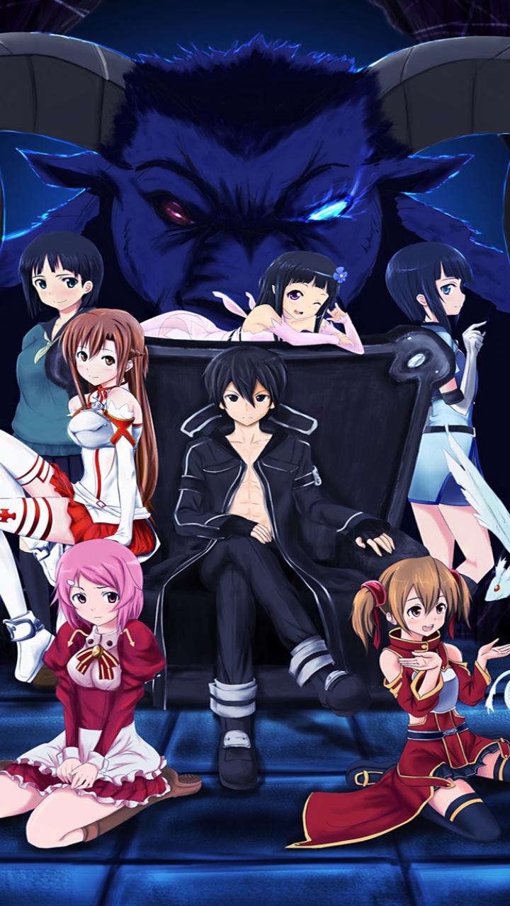 anime/sword art online (720x1280) wallpaper id: 635546 - mobile abyss