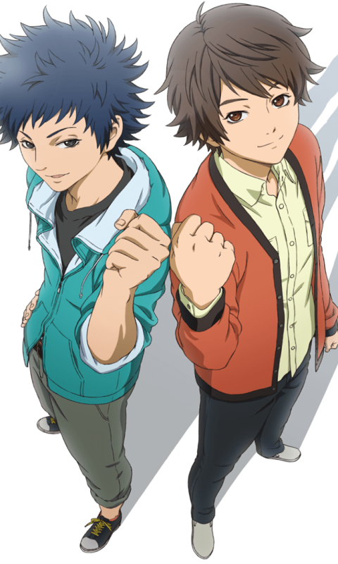 Anime Cheer Boys 480x800 Mobile Wallpaper