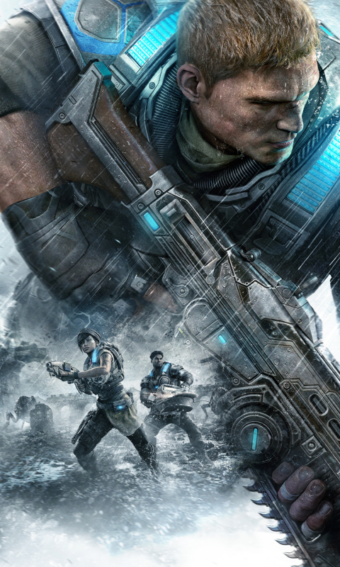 Video Gamegears Of War 4 480x800 Wallpaper Id 639445 Mobile Abyss