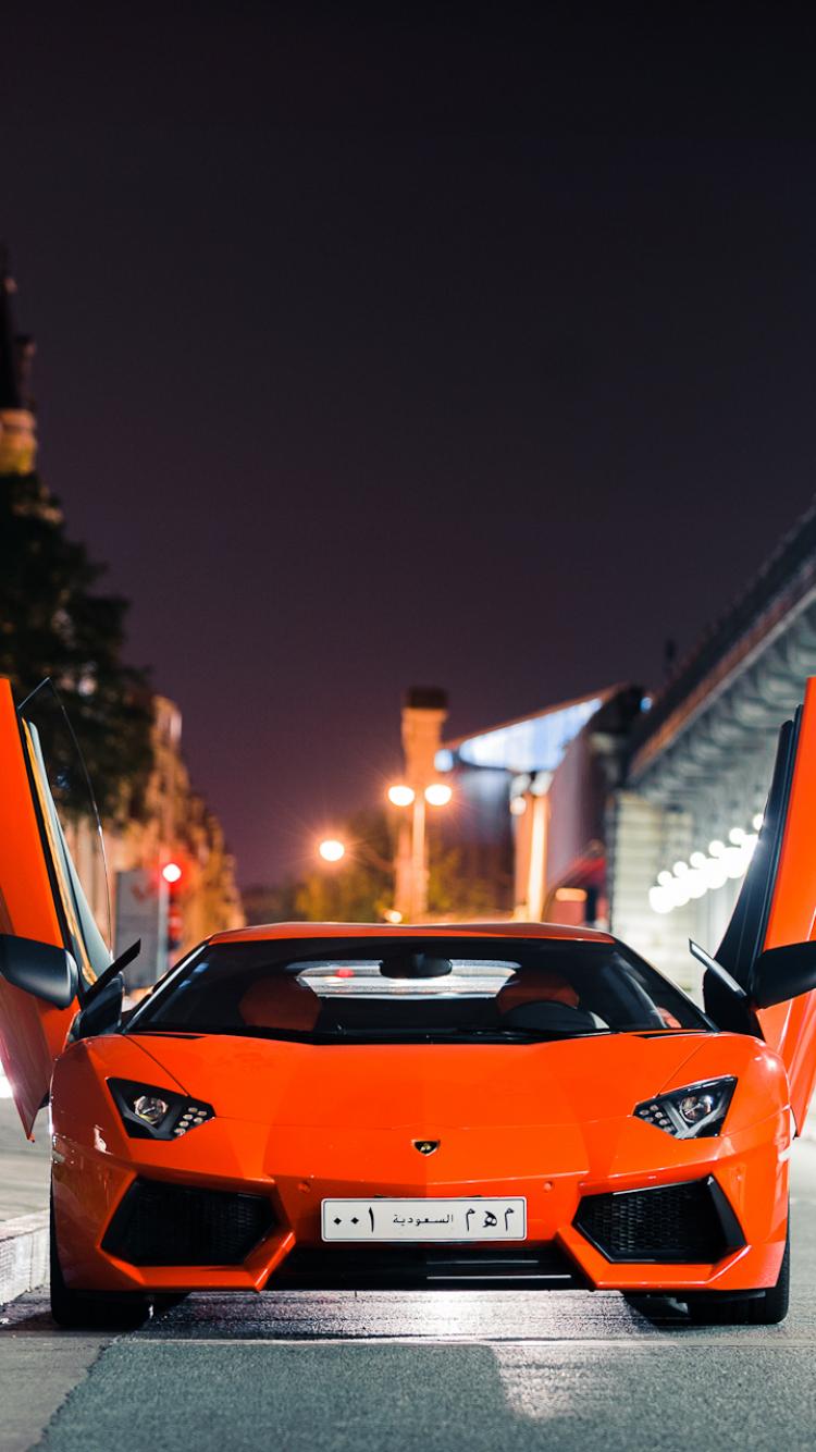 Vehicles Lamborghini Aventador 750x1334 Mobile Wallpaper