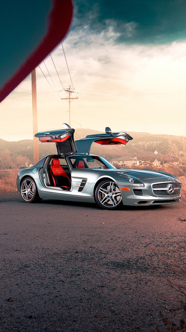 Mercedes benz sls amg iphone wallpaper matatarantula for Www mercedes benz mobile com iphone