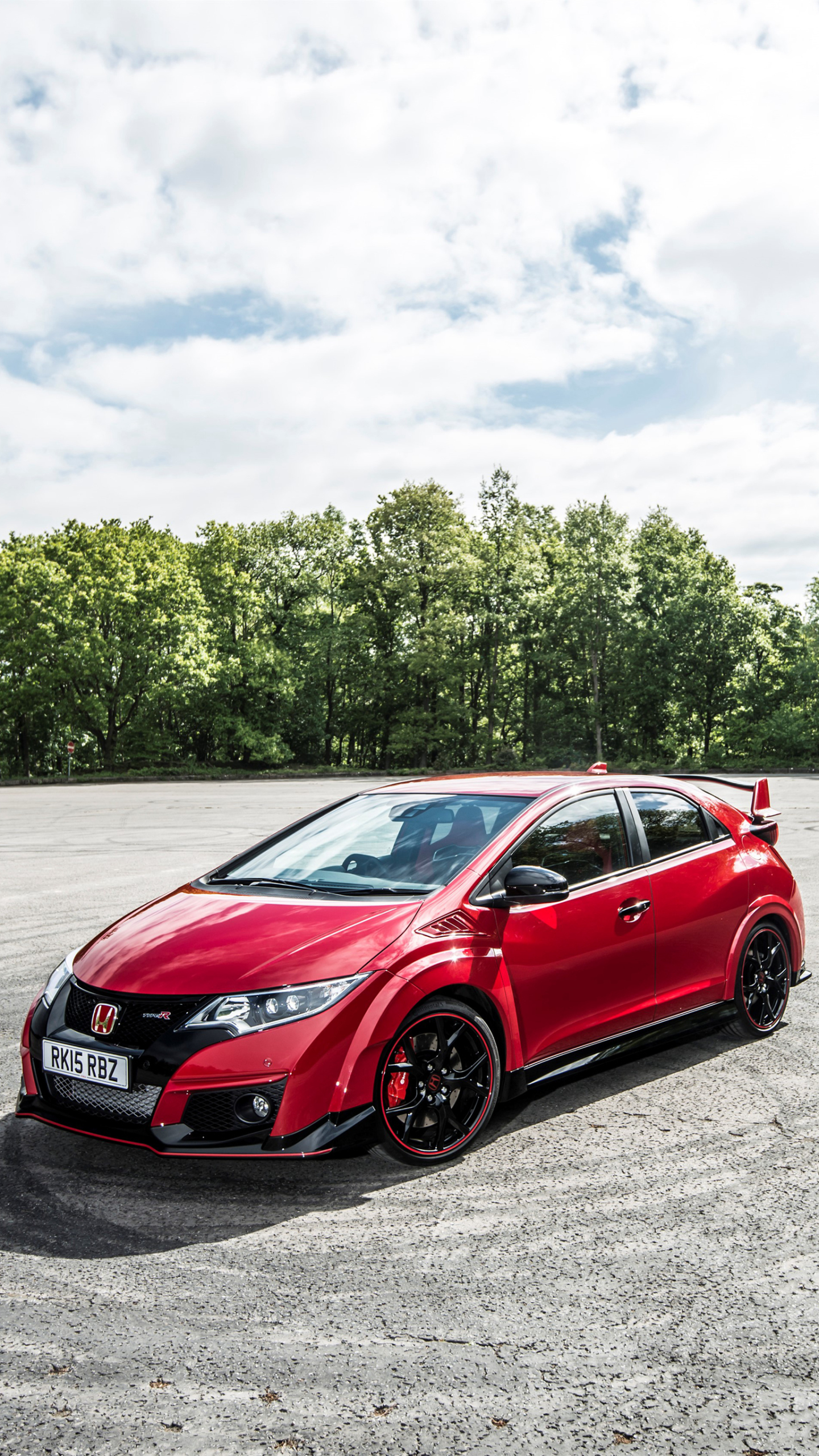 Vehicles Honda Civic Type R 1440x2560 Wallpaper Id 642159