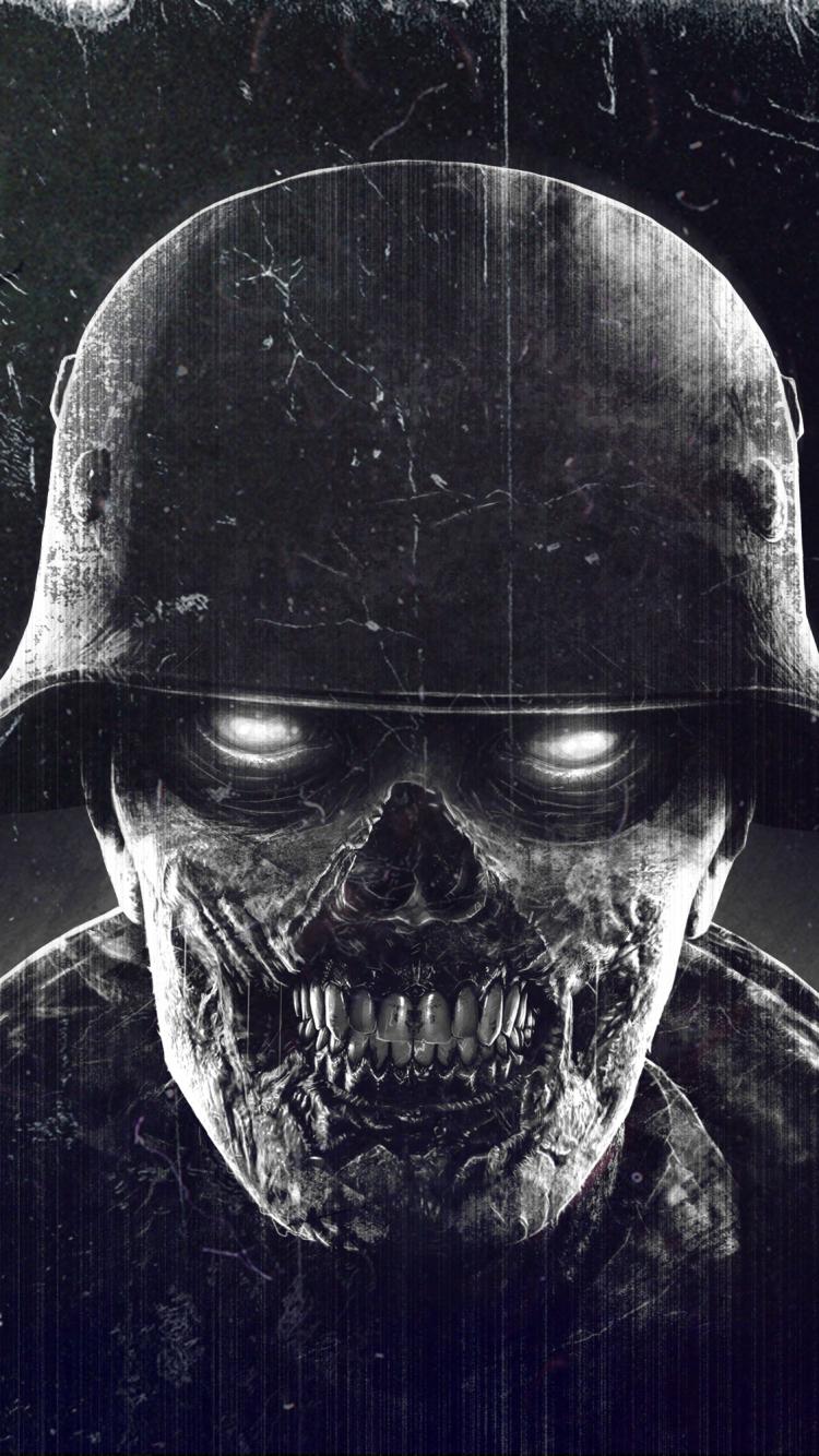 video game/sniper elite: nazi zombie army (750x1334) wallpaper id