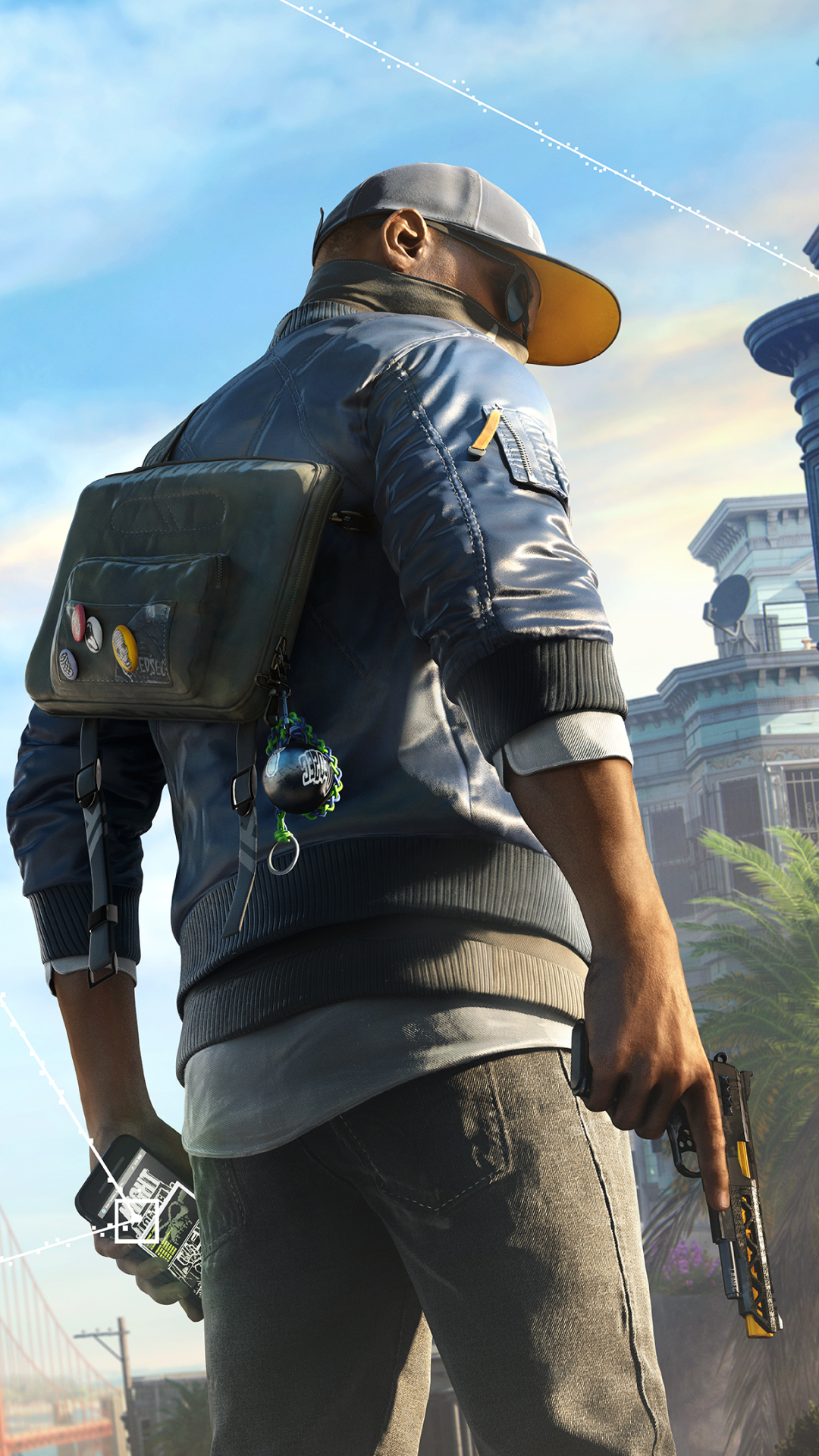 38 Watch Dogs 2 Apple/iPhone 6 (750x1334) Wallpapers