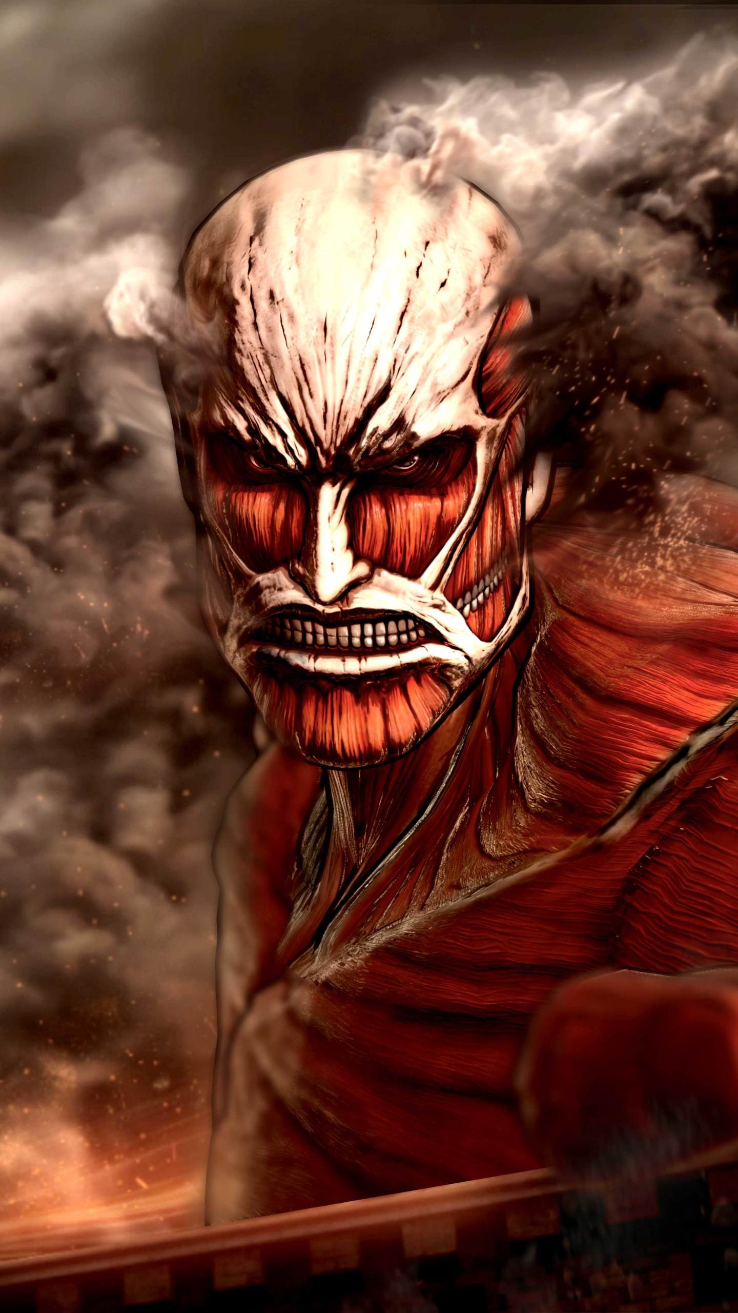 Attack On Titan Colossal Titan Wallpaper | www.pixshark ...