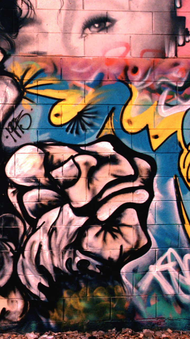 Artistic Graffiti 720x1280 Mobile Wallpaper