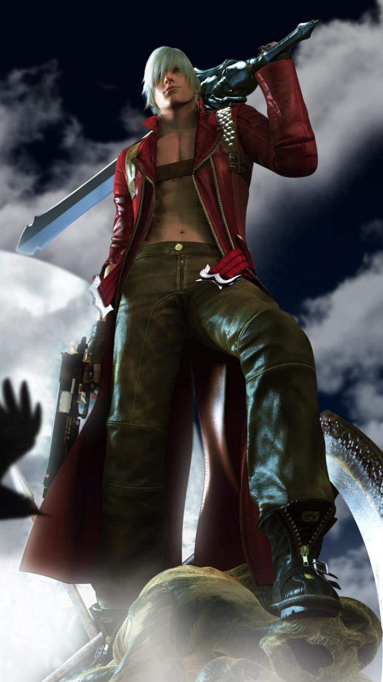 Video Game Devil May Cry 3 Dante S Awakening 750x1334 Wallpaper