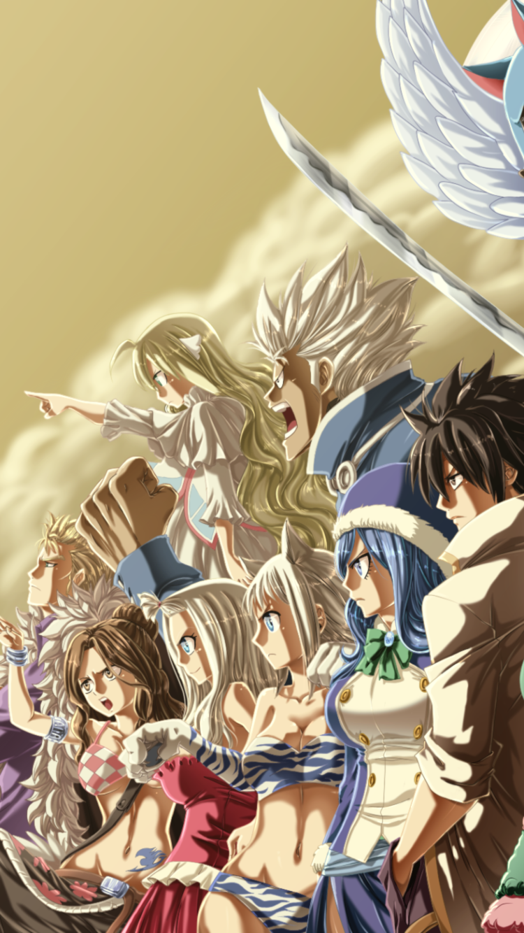 Anime Fairy Tail 750x1334 Wallpaper Id 644857 Mobile Abyss
