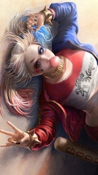 69 Harley Quinn Apple Iphone 7 Plus 1080x1920 Wallpapers Mobile