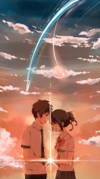 241 Kimi No Na Wa Apple Iphone 5 640x1136 Wallpapers