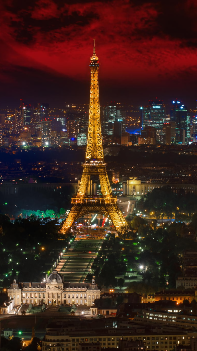 Man Made Eiffel Tower 750x1334 Wallpaper Id 645274 Mobile Abyss