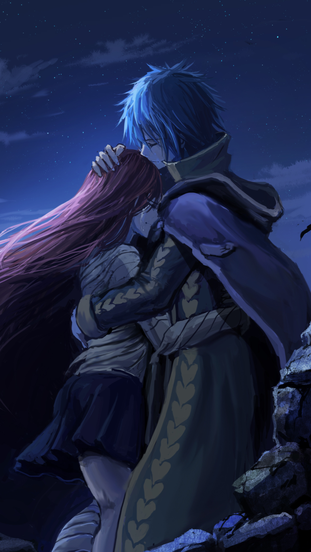 Anime fairy tail 1080x1920 wallpaper id 645516 mobile - Erza scarlet wallpaper ...