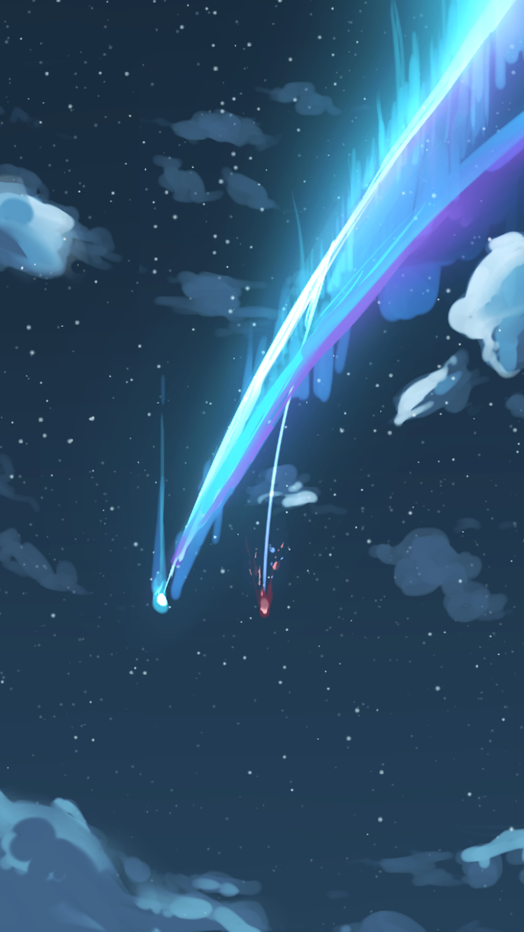 251 Kimi No Na Wa Apple Iphone 5 640x1136 Wallpapers Mobile Abyss