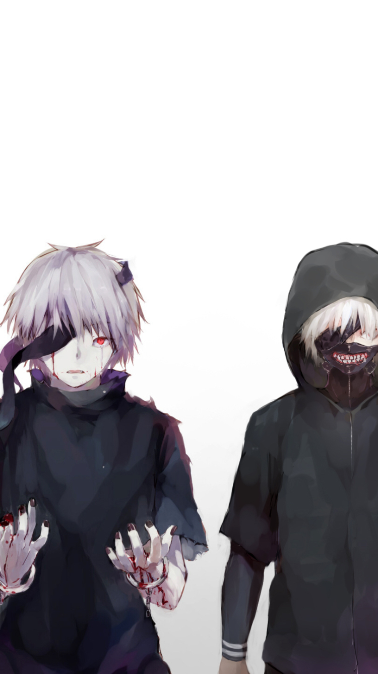 202 Ken Kaneki Apple IPhone 5 640x1136 Wallpapers