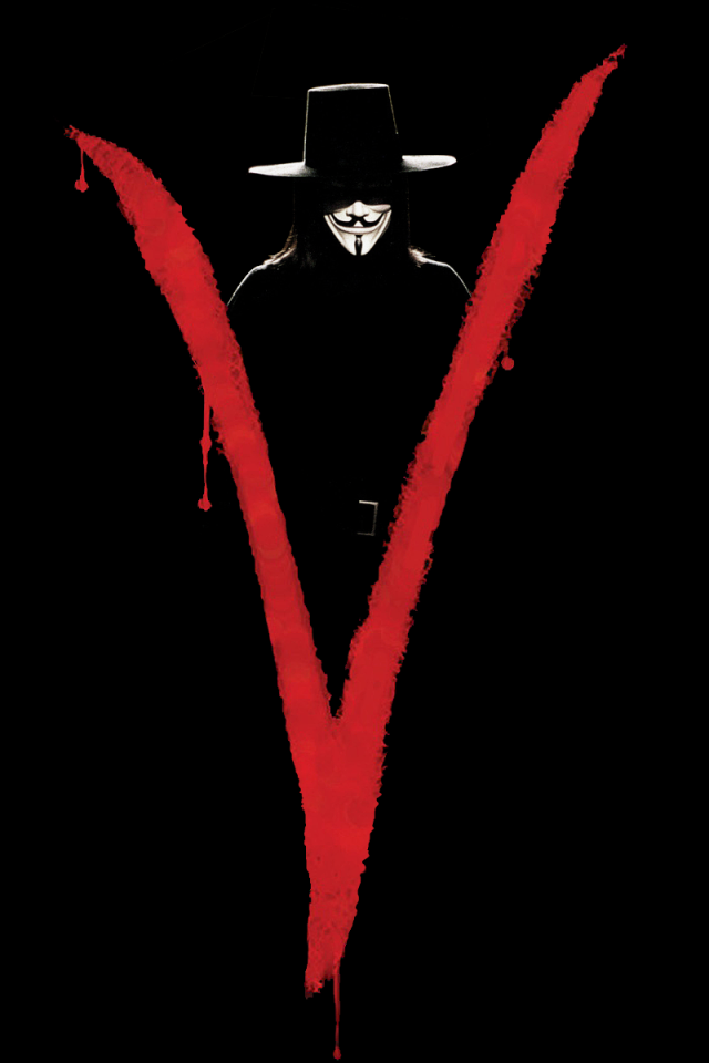 V For Vendetta Wallpaper For Mobile