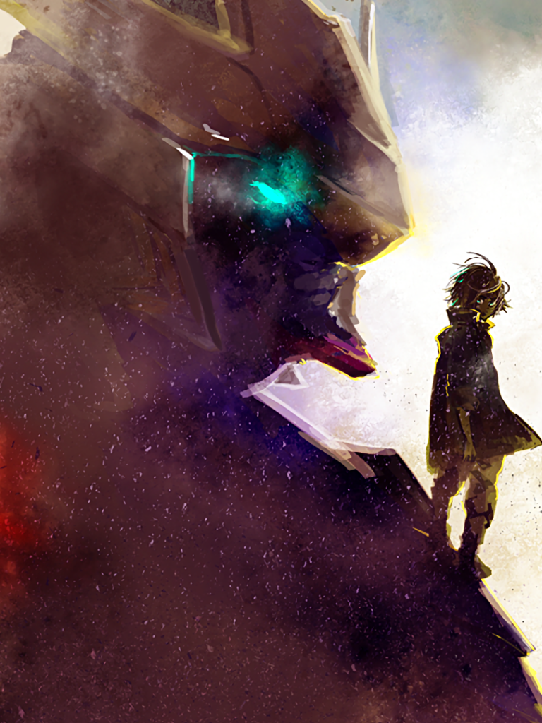 Anime Mobile Suit Gundam Iron Blooded Orphans 768x1024