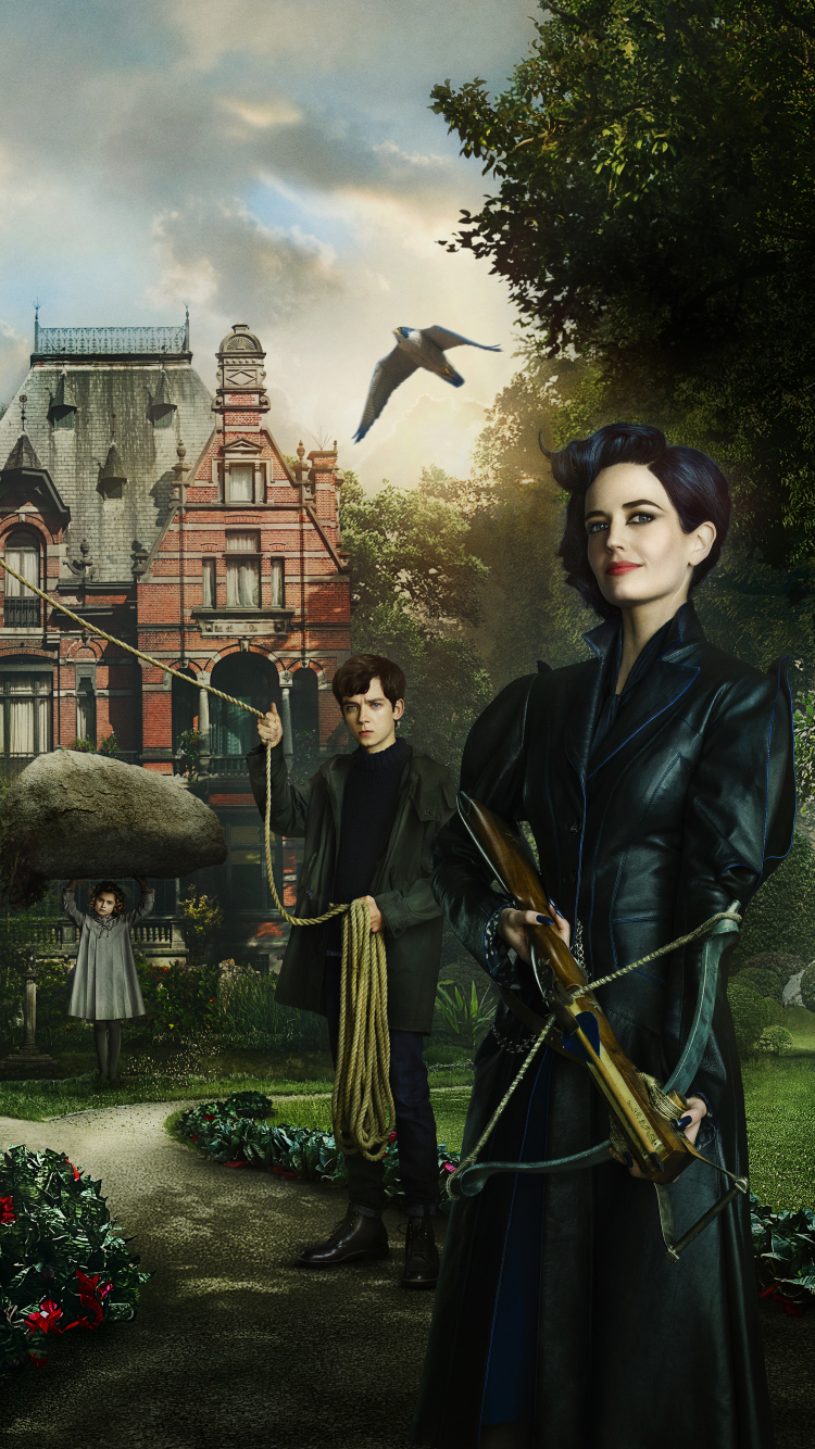 Movie Miss Peregrine S Home For Peculiar Children 750x1334