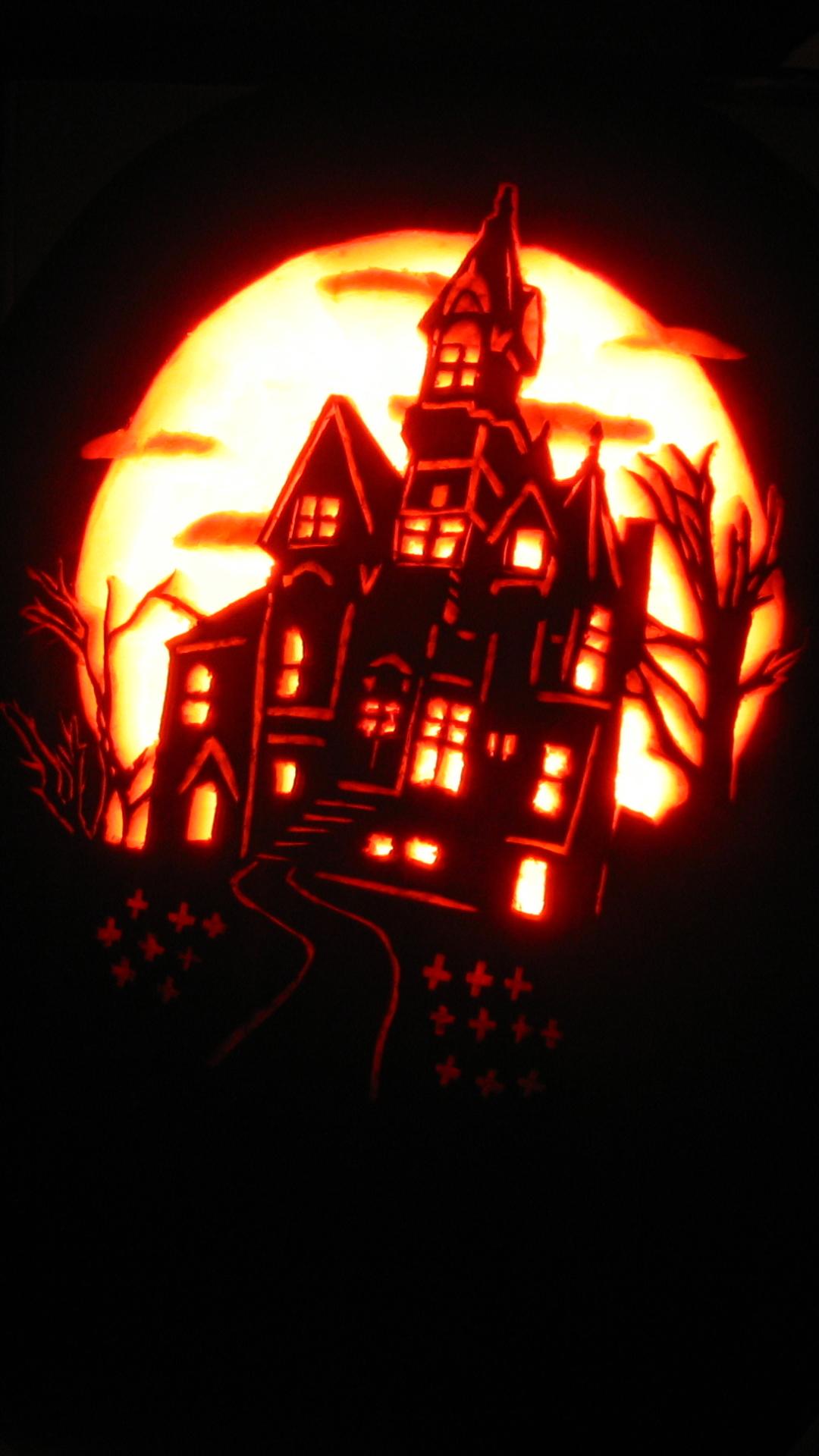 Holiday Halloween 1080x1920 Wallpaper Id 648329 Mobile