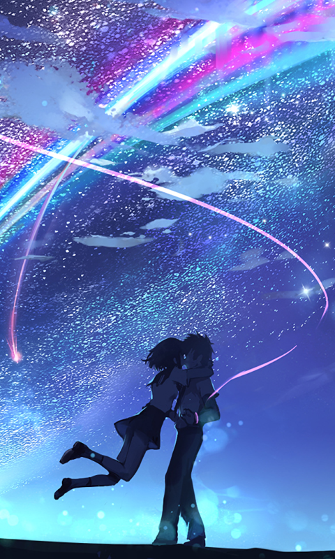 Anime Your Name 480x800 Wallpaper Id 648935 Mobile Abyss