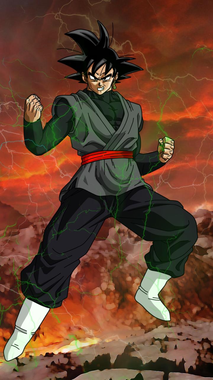 Dragon Ball Wallpaper Iphone Goku Black Freewallanime