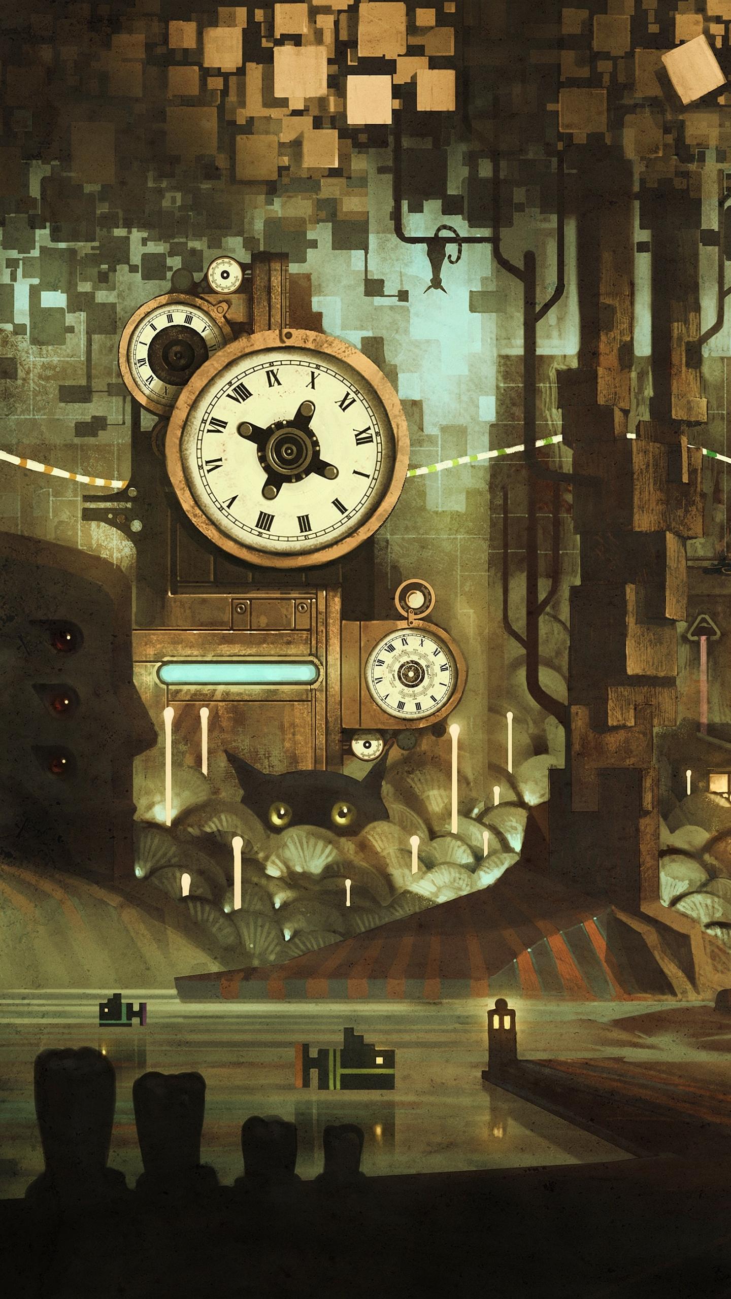 iPhone SE Sci FiSteampunk Wallpaper ID 649767