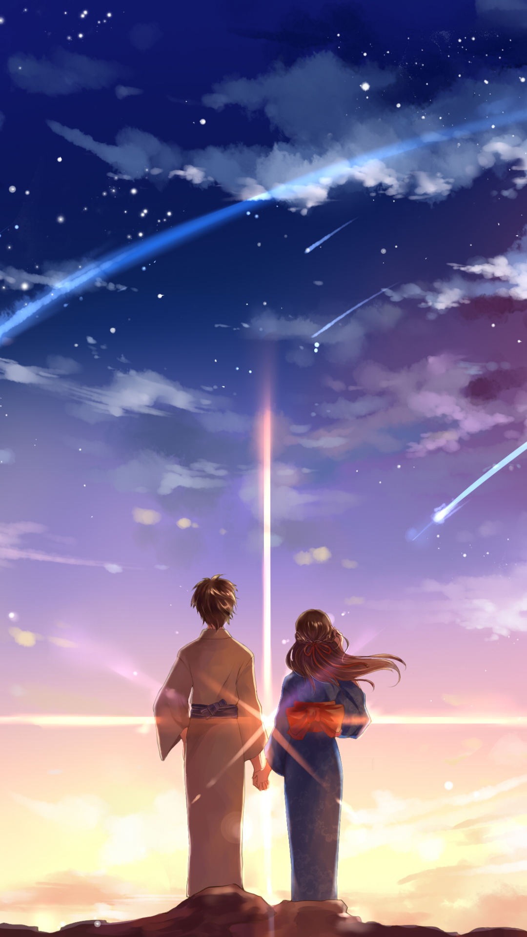 98 Kimi No Na Wa Apple Iphone 7 Plus 1080x1920 Wallpapers