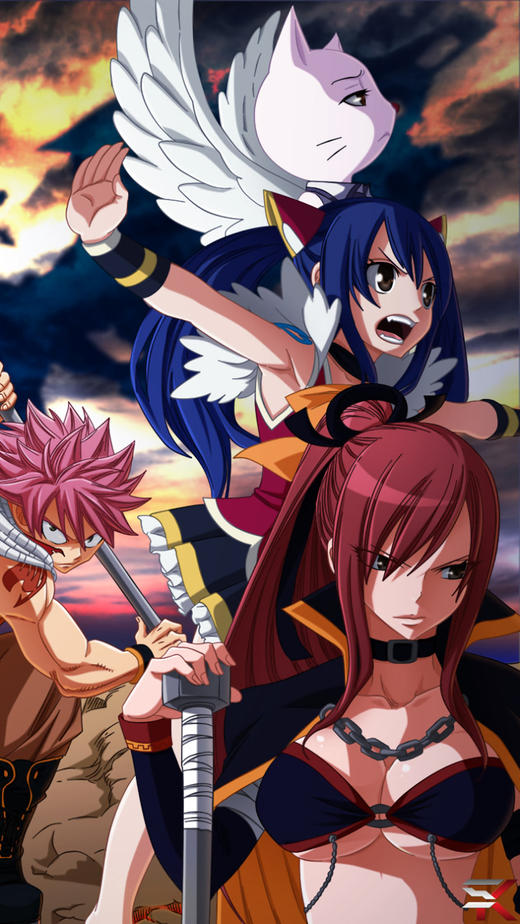 Anime Fairy Tail 750x1334 Wallpaper Id 652279 Mobile Abyss
