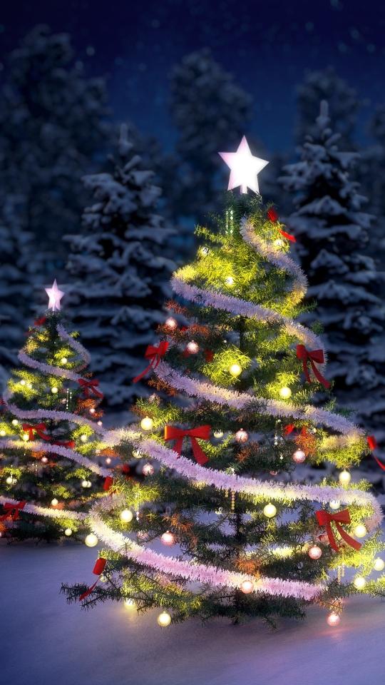 Мерцающая елка открытки, оригинальная открытка
